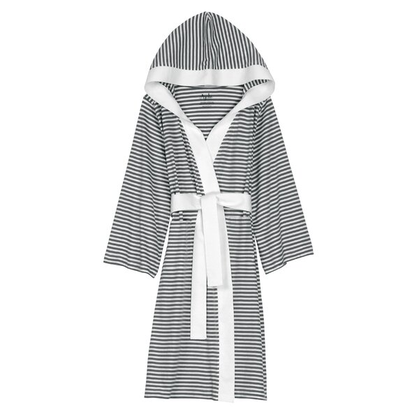 Natural Living Dana 100% Cotton Jersey Bathrobe by Nine Space